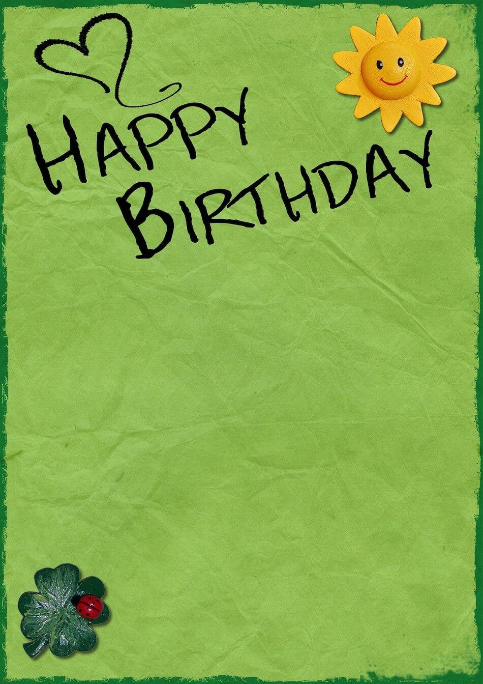 Alles Gute Zum Geburtstag Beliebte Glückwünsche Zum Geburtstag
