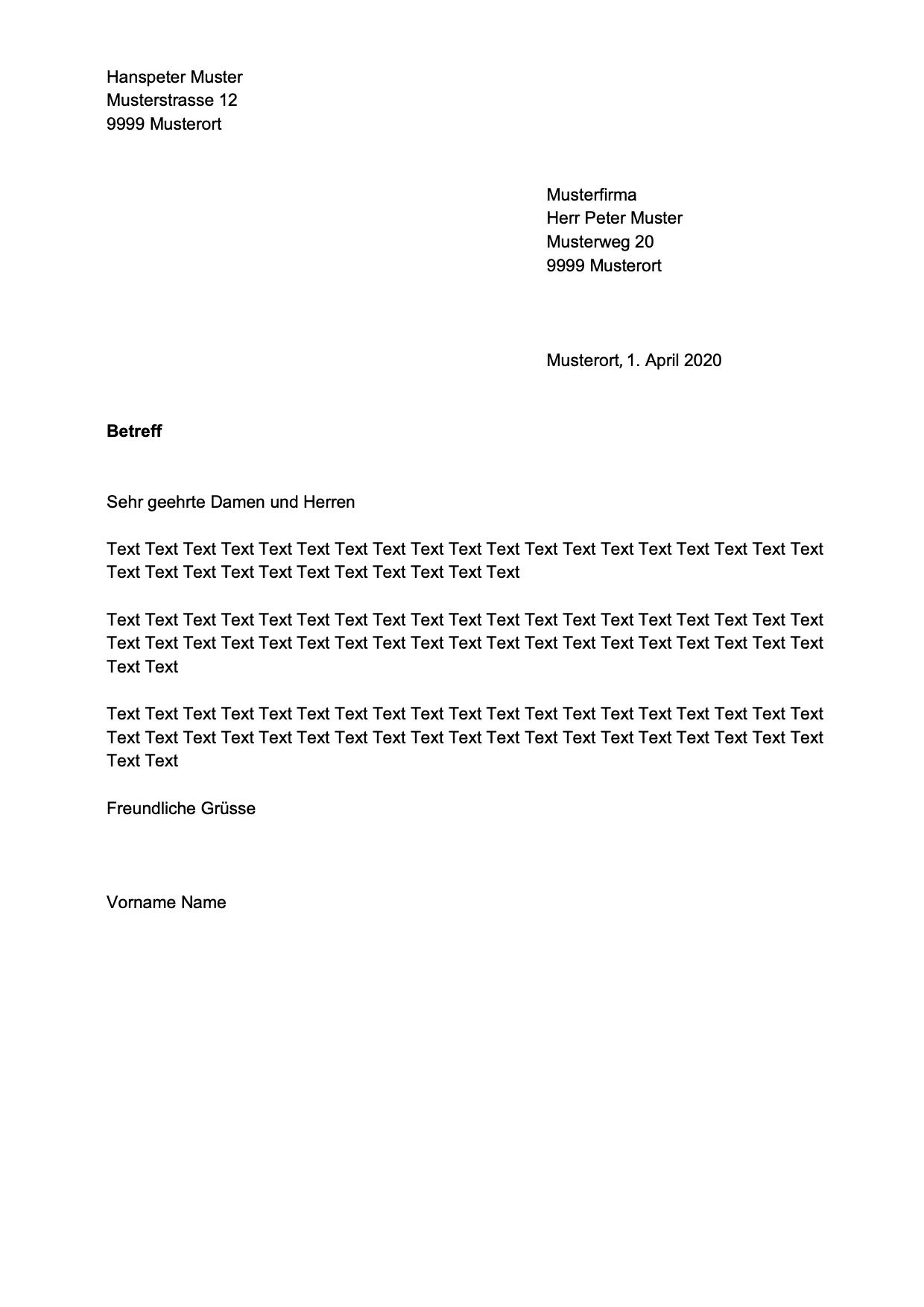 Briefe Office Com